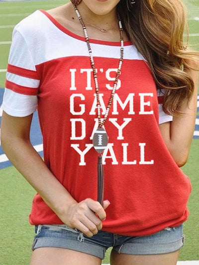 IT'S GAME DAY Y'ALL Football Tee