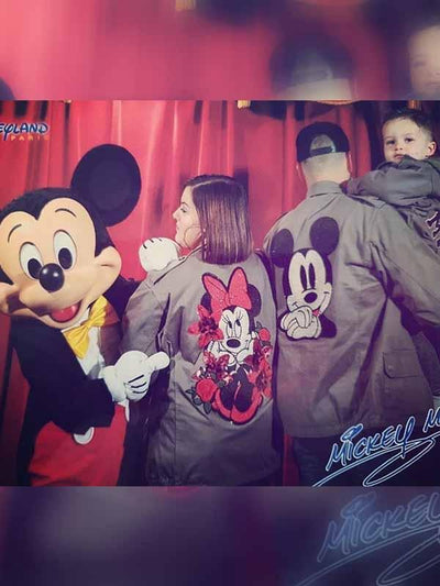 Mickey Minnie Family Casual Jacket