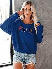 Weekend Cotton Blend Sweatshirts