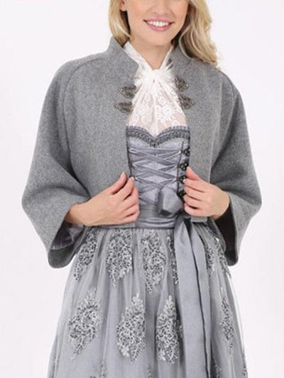 Fashion Simple Three-Quarter Sleeve Coat