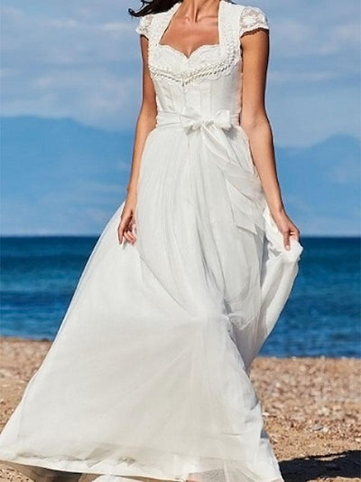 Romantic Gauze Maxi Dress