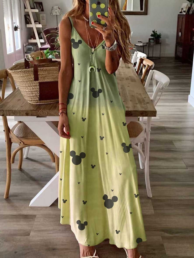 Mickey Mouse Maxi Dress