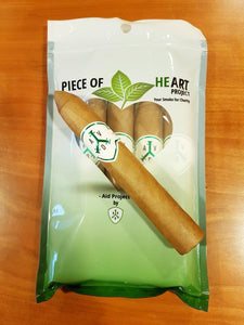 "Adventura Cigars (Adv) ""Green"" Piece of Heart Belicoso"