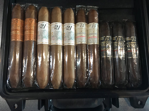 Gurkha Cigars 20 Cigar Sampler (Large Pelican/Knife)