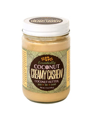 Creamy Cashew Coconut Butter
