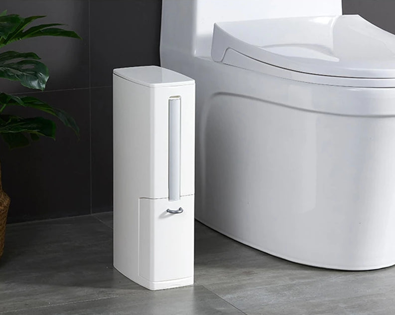 Multi-functional Bathroom Waste Bin