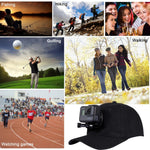 Baseball Cap with Front Mount suitable for GoPro