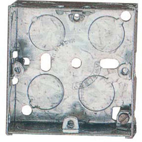 655 1Gang 25mm Intermediate Flush Wall Back Box.