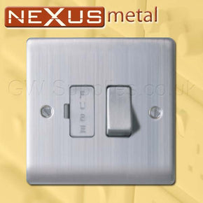 BG NBS50 Nexus Metal Spur Brushed Steel