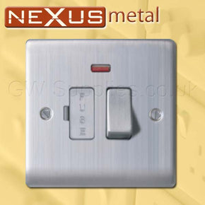 BG NBS52 Nexus Metal Spur Brushed Steel