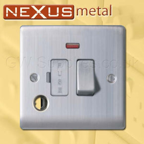 BG NBS53 Nexus Metal Spur Brushed Steel