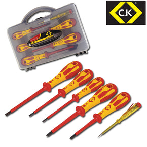 C.K T49183 DextroVDE Screwdriver Slotted Parallel and PZD Set Of 6