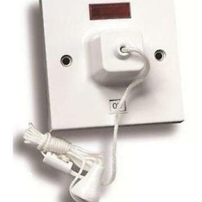 BG 803 Ceiling Switch, With Power Indicator 45A, White