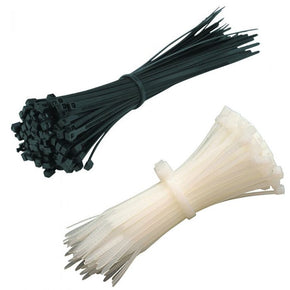 Norslo Cable Ties (All Sizes, Black and Natural) Per 100