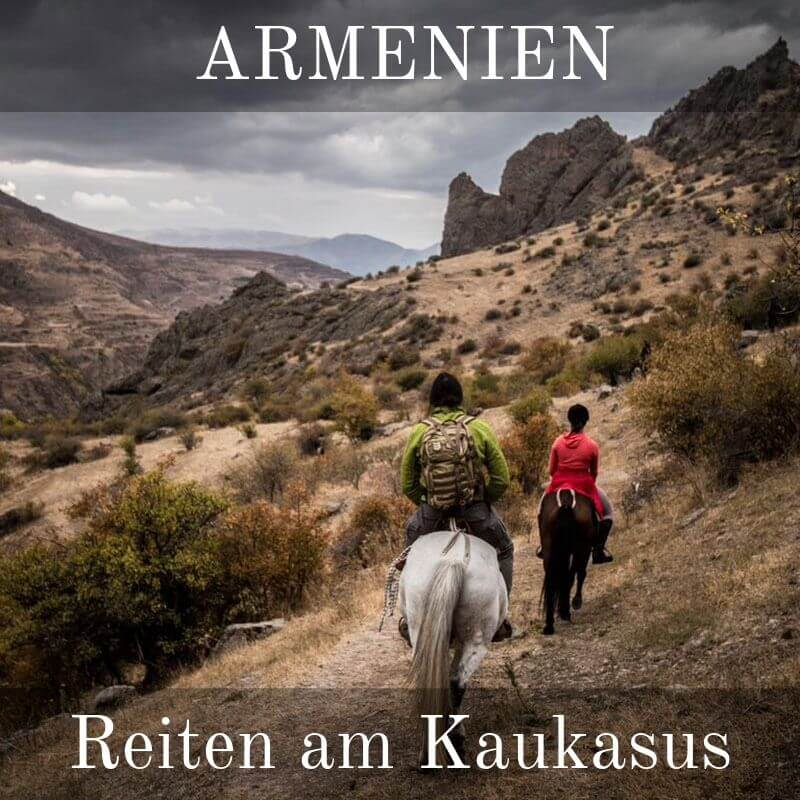 11 Tage Pferdetrekking Expedition in Armenien