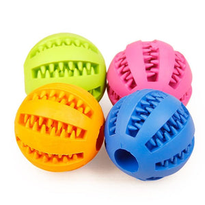 Interactive Dog Toys Rubber Balls