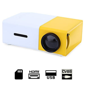 StructuredShop movies Full HD Mini Portable Projector