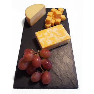 """The Original Vermont Slate"" Cheese Board Bundle - 2 slate boards"