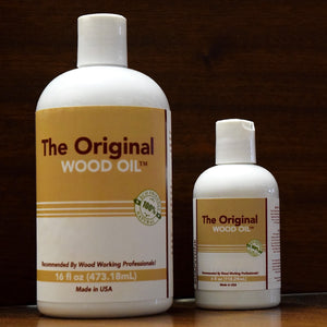 Wood Oil 4 oz & 8 oz