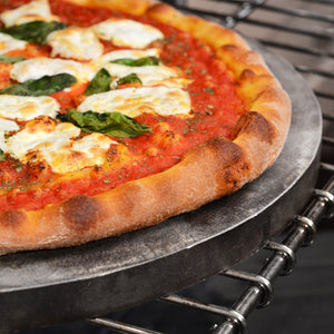 Pizza Stone on Grill