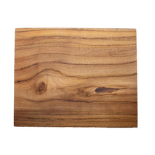 Load image into Gallery viewer, small teak wood board
