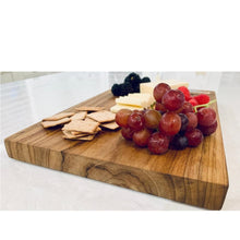 Load image into Gallery viewer, Rectangular Teak Wood Cutting / Cheese Board