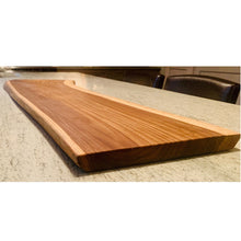 Load image into Gallery viewer, teak wood board 3 ft.