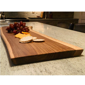 teak wood serving board