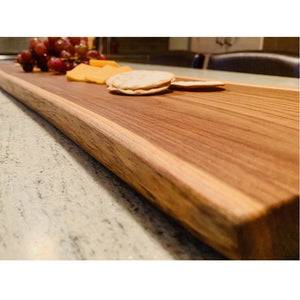 teak wood serving board 3 foot
