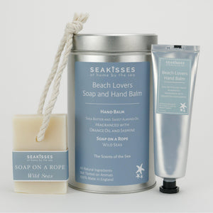 Beach Loving Mumma Gift Set Hand Balm Soap on a Rope