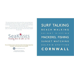Surf Talking - Greeting Card
