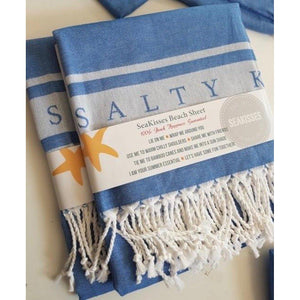 Sandy Toes Beach Sheet  (Hammam Towel)