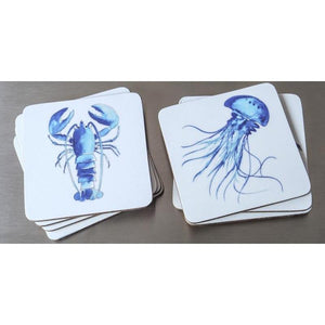 Pack of 4 Coastal Coasters