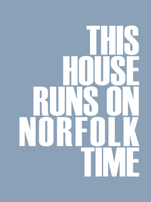 Norfolk Time Travel Print- Coastal Wall Art /Poster