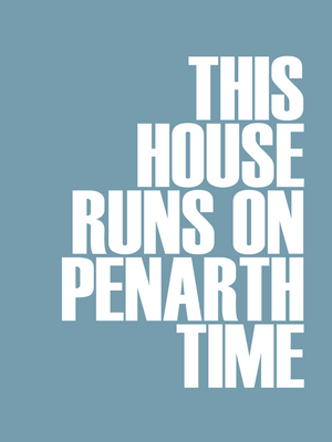 Penarth Time Typographic Seaside Print - Coastal Wall Art /Poster