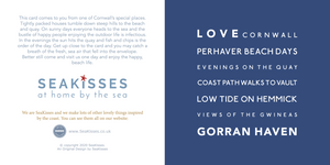 Love From Gorran Haven - Greeting Card