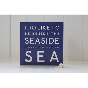 Beside the Sea - Greeting Card