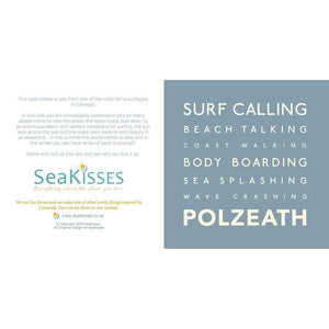 Polzeath - Greeting Card