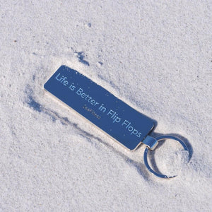 Key Ring - Life is Better in Flip Flops