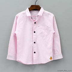 Solid Pink Shirt