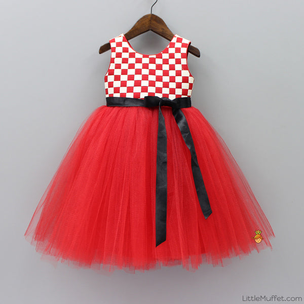 Pre Order: Red Tutu Dress