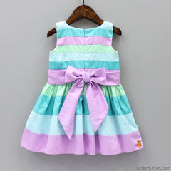 Pre Order: Candy Land Dress In Blueberry