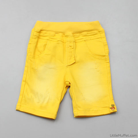 Funky Yellow Shorts