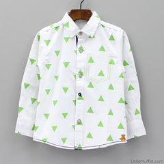 Triangle Shirt - White