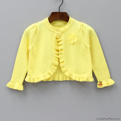 Stylish Yellow Shrug