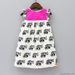 Pre Order: Elephant Print Dress