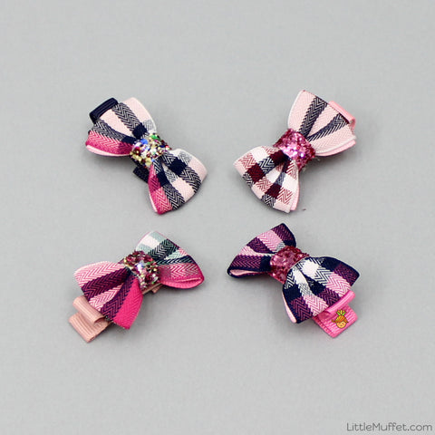 Little Bowy Clips - Set Of 4