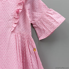 Pre Order: Gathers And Ruffles - Pink