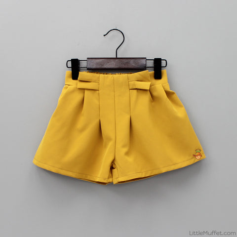 Bowy Short - Mustard Yellow
