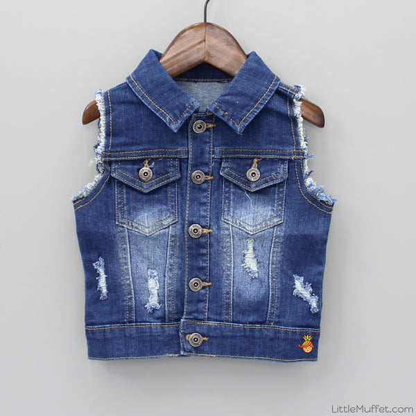 Funky Denim Jacket